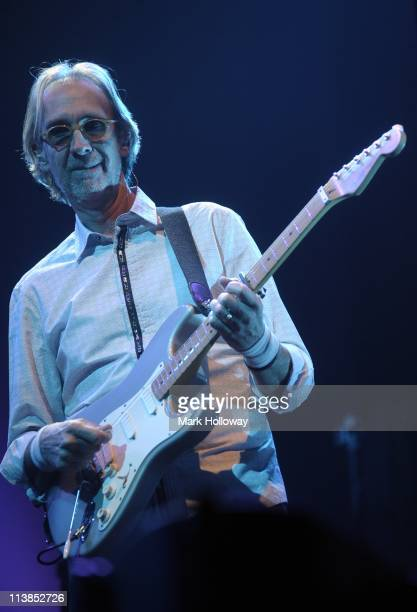 Mike Rutherford of Mike And The Mechanics performs on stage at BIC on May 8 2011 in Bournemouth United Kingdom