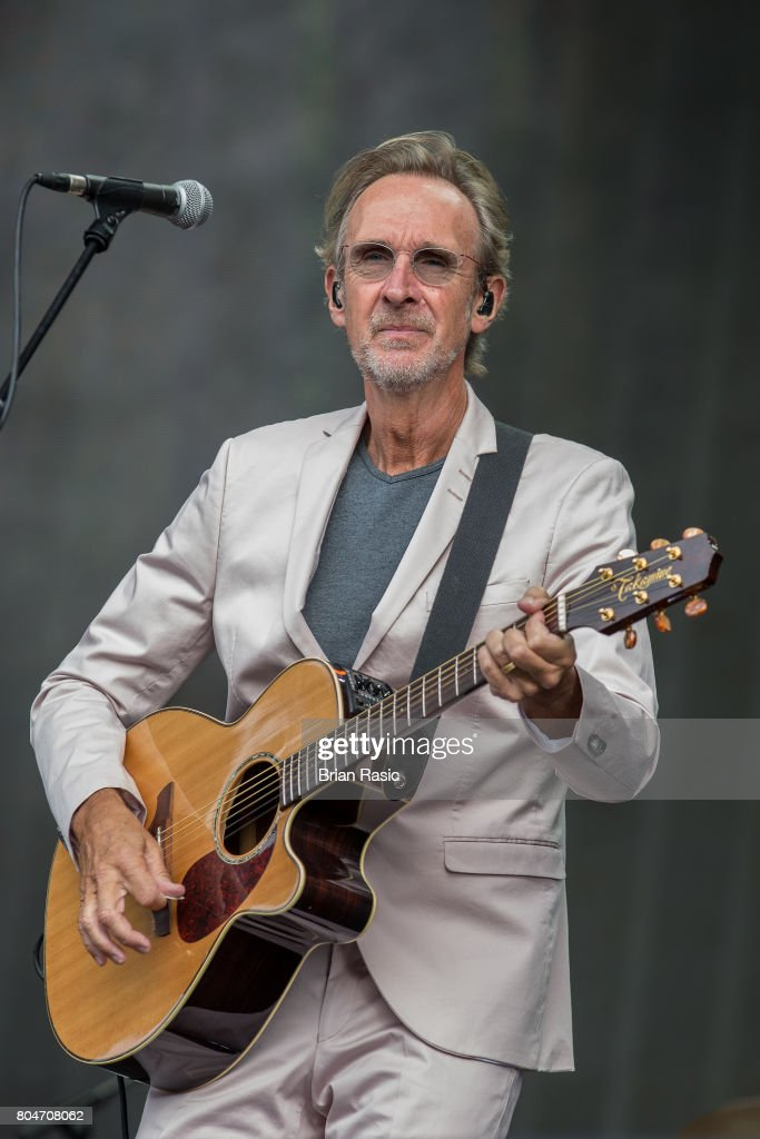 Mike Rutherford of Mike + The Mechanics performs on stage at Barclaycard British Summertime at Hyde Park on June 30, 2017 in London, England.