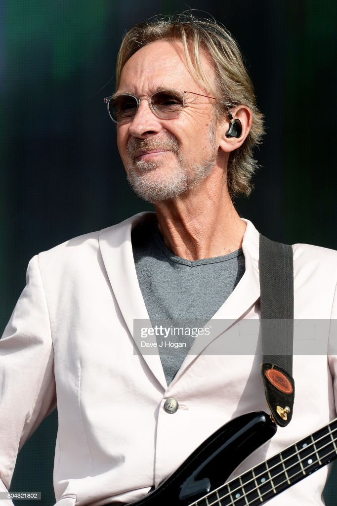 Mike Rutherford of Mike + The Mechanics performs on stage at the Barclaycard Presents British Summer Time Festival in Hyde Park on June 30, 2017 in London, England.