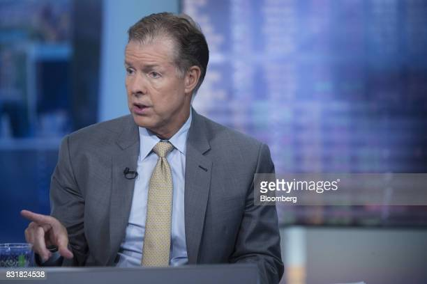 Mike Ryan chief investment strategist for UBS Financial Services Inc speaks during a Bloomberg Television interview in New York US on Tuesday Aug 15...