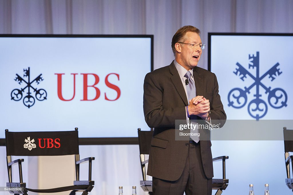 Mike Ryan, chief investment strategist of wealth management for the Americas at UBS Financial Services Inc., speaks during the UBS CIO Global Forum at the Beverly Wilshire Hotel in Beverly Hills, California, U.S., on Tuesday, June 28, 2016. The forum are sources experts from all regions of the world to address regional issues affecting global markets. Photographer: Patrick T. Fallon/Bloomberg via Getty Images