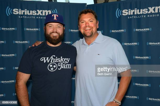 Mike Ryan Visits the SiriusXM Studios with SiriusXM Host Storme Warren on June 20 2017 in Nashville Tennessee