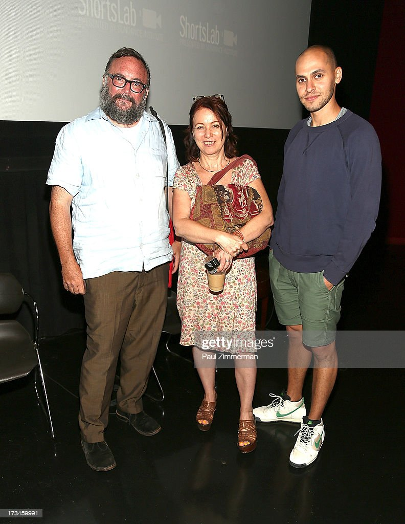 Mike S. Ryan, Melody London and Jody Lee Lipes attend the Sundance Institute NY Short Film Lab at BAM Rose Cinemas on July 14, 2013 in the Brooklyn borough of New York City.
