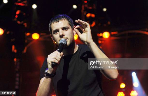 Mike Skinner of the Streets performs during the BBC Electric Proms 2008 at the Roundhouse in Camden Town north London