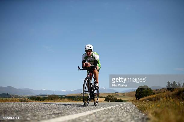 Mike Smith of New Zealand during the Challenge Wanaka on January 18 2014 in Wanaka New Zealand