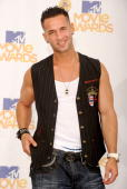 Mike Sorrentino aka The Situation poses in the press room at the 2010 MTV Movie Awards held at the Gibson Amphitheatre at Universal Studios on June 6...