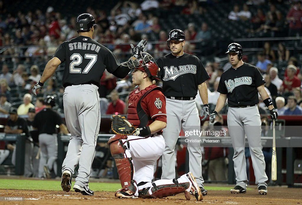Florida Marlins v Arizona Diamondbacks