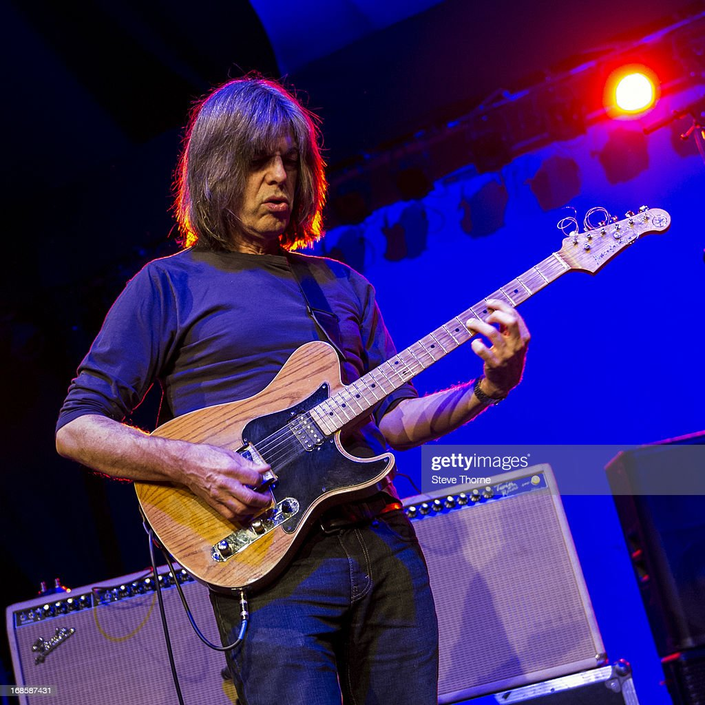 Mike Stern performs on stage on Day 5 of Cheltenham Jazz Festival on May 5, 2013 in Cheltenham, England.