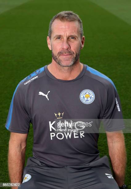 Mike Stowell Ð First Team Goalkeeping Coach during the Leicester City Official Team Group on November 1 2017 in Leicester United Kingdom