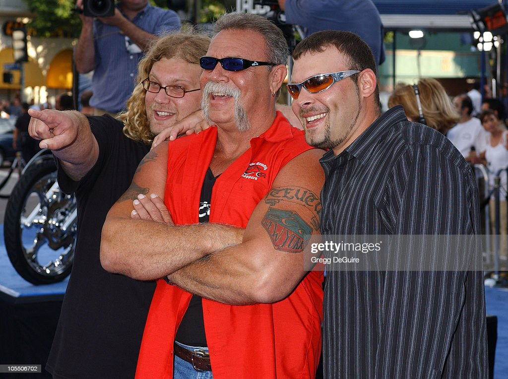 Mike Teutul, <a gi-track='captionPersonalityLinkClicked' href=/galleries/search?phrase=Paul+Teutul+Sr.&family=editorial&specificpeople=242944 ng-click='$event.stopPropagation()'>Paul Teutul Sr.</a> and <a gi-track='captionPersonalityLinkClicked' href=/galleries/search?phrase=Paul+Teutul+Jr.&family=editorial&specificpeople=227034 ng-click='$event.stopPropagation()'>Paul Teutul Jr.</a> during 'I, ROBOT' World Premiere - Arrivals at Mann Village Theatre in Westwood, California, United States.