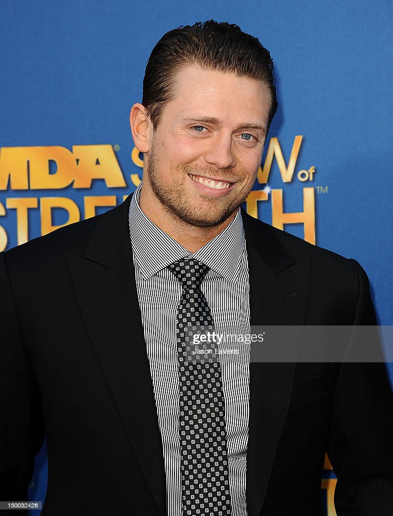 Mike 'The Miz' Mizanin attends the MDA Labor Day Telethon at CBS Studios on August 8, 2012 in Los Angeles, California.