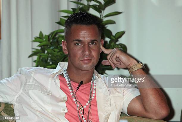 Mike 'The Situation' Sorrentino attends 'Jersey Shore' photocall at Hotel Brunelleschi on May 19 2011 in Florence Italy