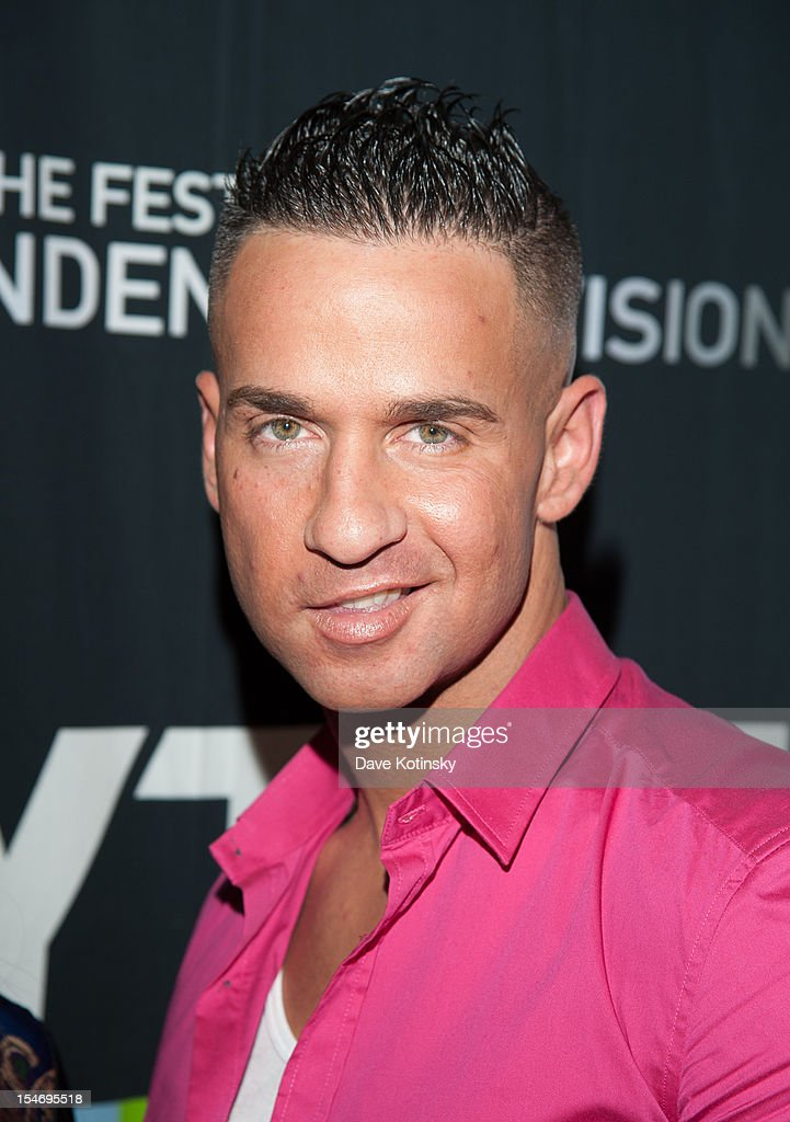 Mike 'The Situation' Sorrentino attends 'Love, Loss, (Gym, Tan) and Laundry: A Farewell To The Jersey Shore' during the 2012 New York Television Festival at 92Y Tribeca on October 24, 2012 in New York City.