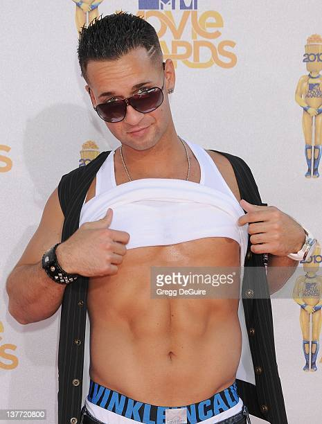 Mike 'The Situation' Sorrentino attends the 2010 MTV Movie Awards at the Gibson Amphitheatre on June 6 2010 in Universal City California