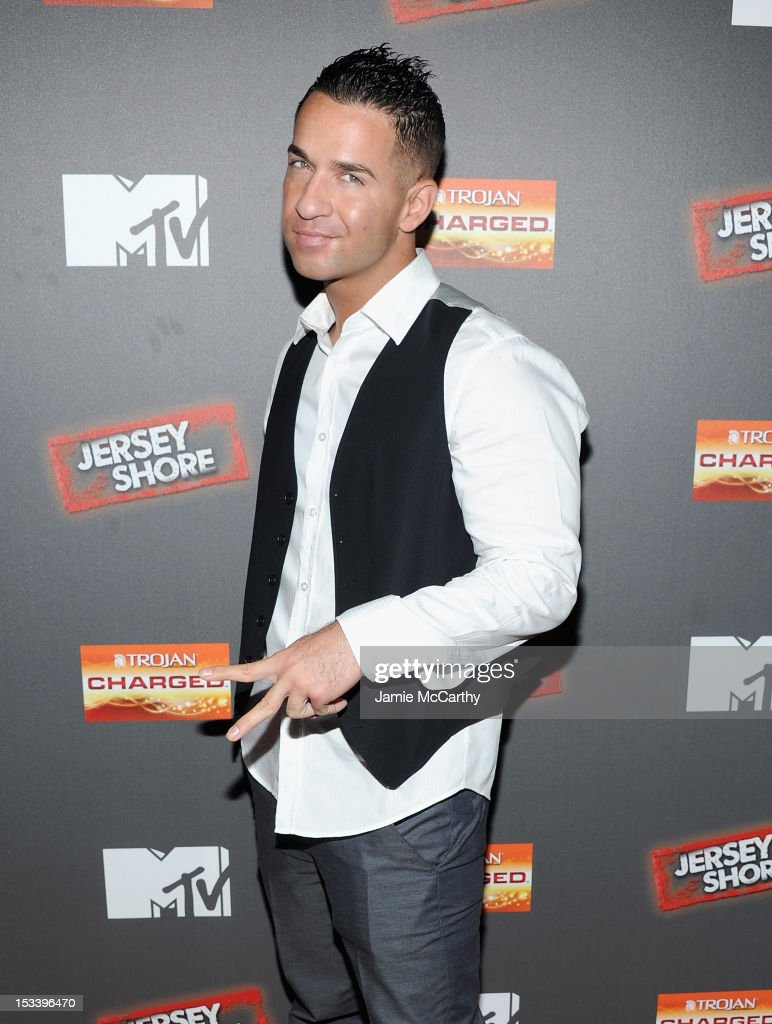Mike 'The Situation' Sorrentino attends the 'Jersey Shore' Final Season Premiere at Bagatelle on October 4, 2012 in New York City.