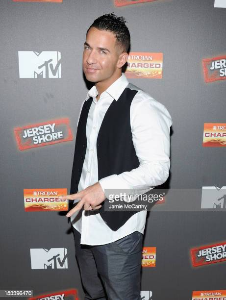 Mike 'The Situation' Sorrentino attends the 'Jersey Shore' Final Season Premiere at Bagatelle on October 4 2012 in New York City