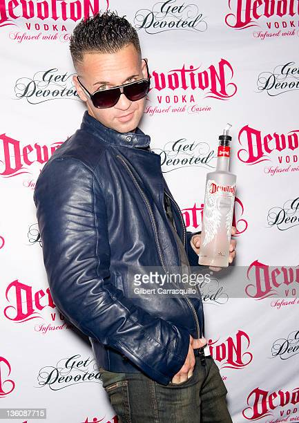 Mike 'The Situation' Sorrentino hosts the Devotion Vodka party at Shampoo Nightclub on December 22 2011 in Philadelphia Pennsylvania