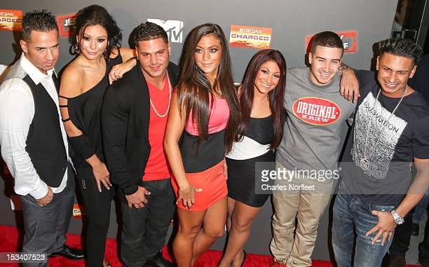 Mike 'The Situation' Sorrentino Jenni 'J Woww' Farley Ronnie OrtizMagro Sammi 'Sweetheart' Giancola Deena Nicole Cortese Vinny Guadagnino and Paul...