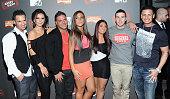 Mike 'The Situation' Sorrentino Jenni 'J Woww' FarleyRonnie OrtizMagroSammi 'Sweetheart' GiancolaDeena Nicole CorteseVinny Guadagnino and Paul 'Pauly...
