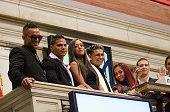 Mike 'the Situation' Sorrentino Ronnie OrtizMagro Sammi Giancola Paul 'Pauly D' DelVecchio Nicole 'Snooki' Polizzi and Vinny Guadagnino ring the...