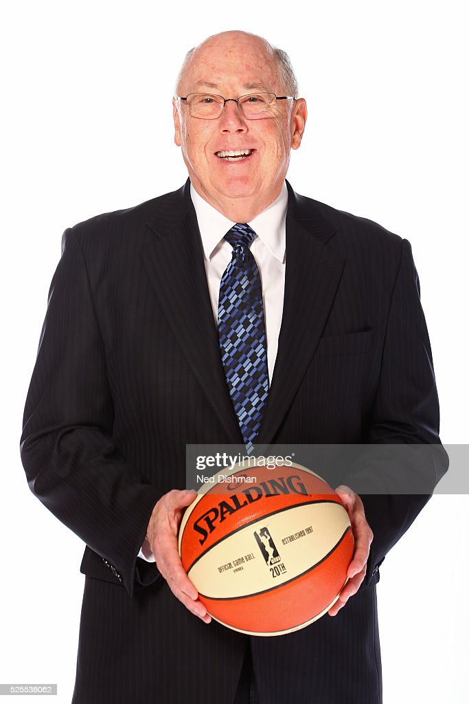Mike Thibault of the Washington Mystics poses for a head shot during Media Day on April 27, 2016 at Verizon Center in Washington, DC.