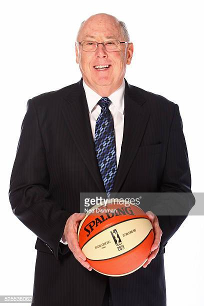 Mike Thibault of the Washington Mystics poses for a head shot during Media Day on April 27 2016 at Verizon Center in Washington DC NOTE TO USER User...