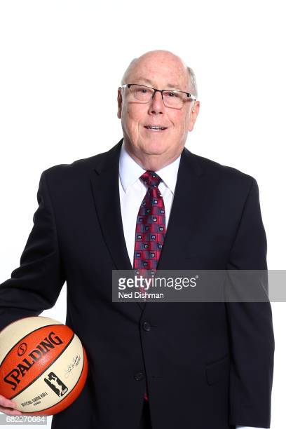Mike Thibault of the Washington Mystics poses for a portrait during Media Day on May 11 2017 at Verizon Center in Washington DC NOTE TO USER User...