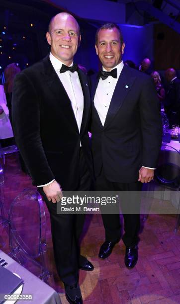 Mike Tindall and Peter Phillips attend the 50th anniversary of The Beatles SGT Pepper Album at Abbey Road Studios for End The Silence and HopeHomes...