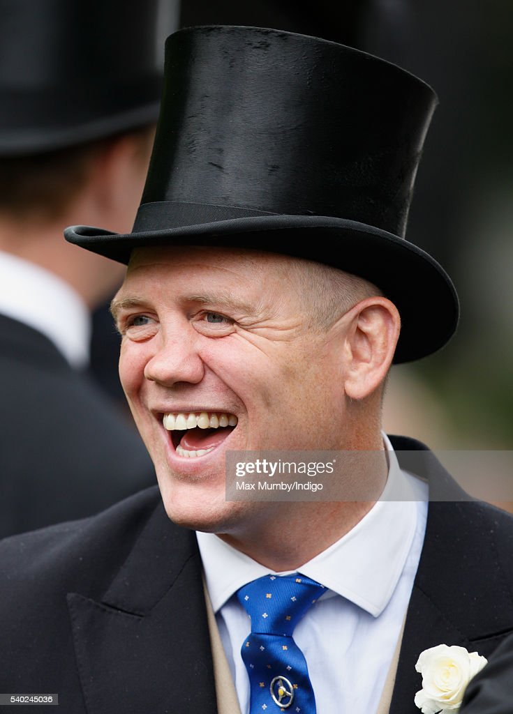Mike Tindall attends day 1 of Royal Ascot at Ascot Racecourse on June 14, 2016 in Ascot, England.