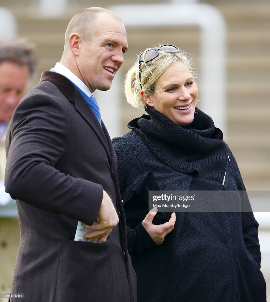 <a gi-track='captionPersonalityLinkClicked' href=/galleries/search?phrase=Mike+Tindall&family=editorial&specificpeople=204210 ng-click='$event.stopPropagation()'>Mike Tindall</a> & <a gi-track='captionPersonalityLinkClicked' href=/galleries/search?phrase=Zara+Phillips&family=editorial&specificpeople=161323 ng-click='$event.stopPropagation()'>Zara Phillips</a> attend The International meeting at Cheltenham Racecourse on December 13, 2013 in Cheltenham, England.