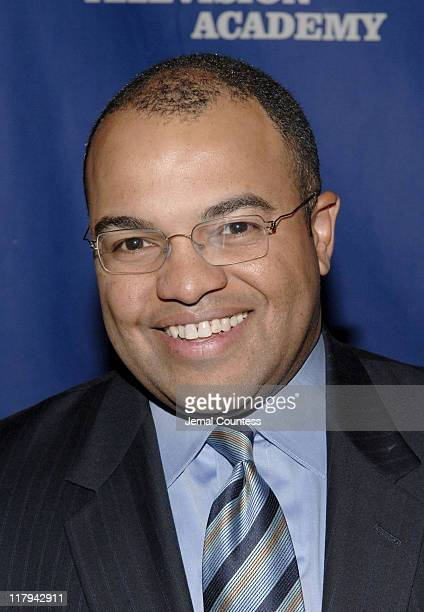 Mike Tirico during 26th Annual Sports Emmy Awards Arrivals at Frederick P Rose Hall at Jazz at Lincoln Center in New York City New York United States