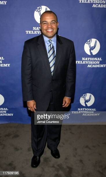 Mike Tirico during 26th Annual Sports Emmy Awards Press Room at Frederick P Rose Hall at Jazz at Lincoln Center in New York City New York United...