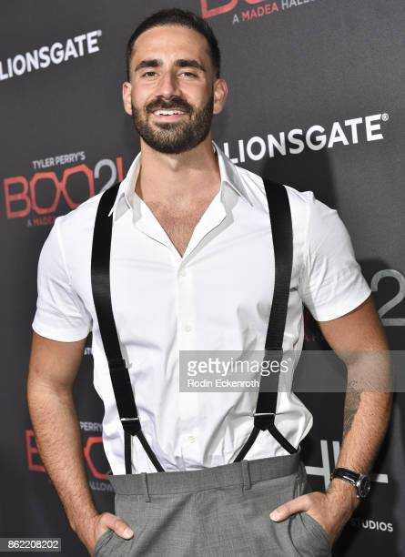 Mike Tornabene arrives at the premiere of Lionsgate's 'Tyler Perry's Boo 2 A Madea Halloween' at Regal LA Live Stadium 14 on October 16 2017 in Los...