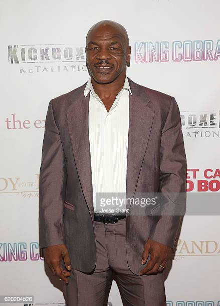 Mike Tyson attends AFM'16 The Exchange's 5 Year Anniversary Celebration on November 1 2016 in Santa Monica California