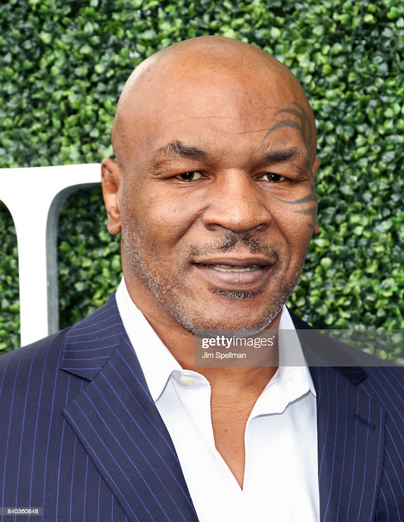Mike Tyson attends the 17th Annual USTA Foundation Opening Night Gala at USTA Billie Jean King National Tennis Center on August 28, 2017 in the Queens borough of New York City.