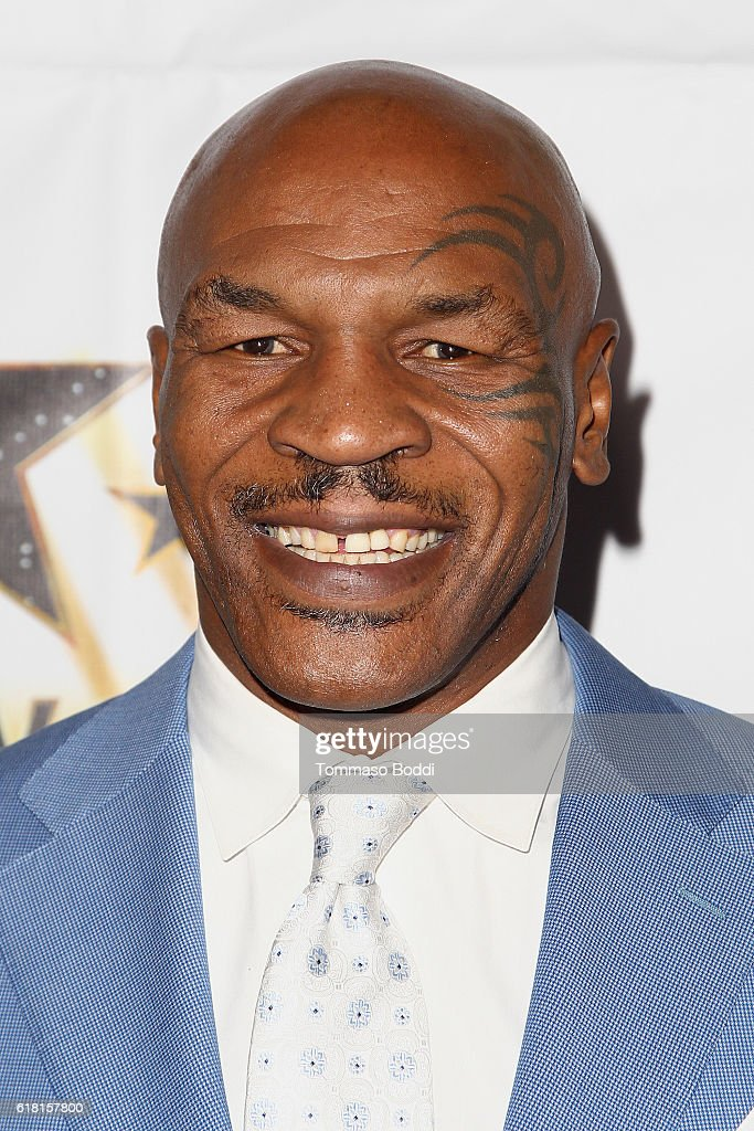 Mike Tyson attends the Hollywood Walk Of Fame Honors at Taglyan Complex on October 25, 2016 in Los Angeles, California.