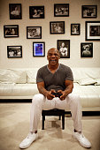 Mike Tyson is photographed in his Henderson Nv home ahead of a 10week 38date cross country tour of his oneman stage show 'Mike Tyson Undisputed...