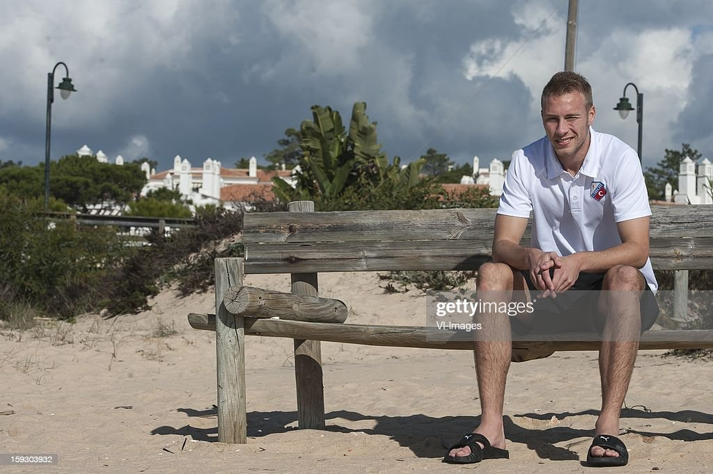 Mike van der Hoorn of FC Utrecht during the training camp of FC Utrecht on January 11, 2013 at Almancil, Portugal.
