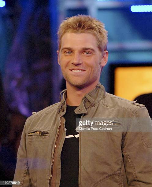 Mike Vogel during Fuse Daily Downloads with Samaire Armstrong and Mike Vogel at FUSE Studios in New York City New York United States