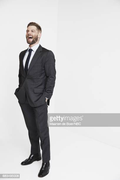 Mike Vogel of 'The Brave' poses for a photo during NBCUniversal Upfront Events Season 2017 Portraits Session at Ritz Carlton Hotel on May 15 2017 in...