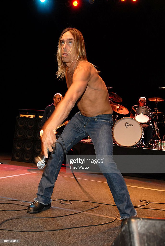 Iggy Pop and The Stooges Perform at United Palace Theatre in New York City