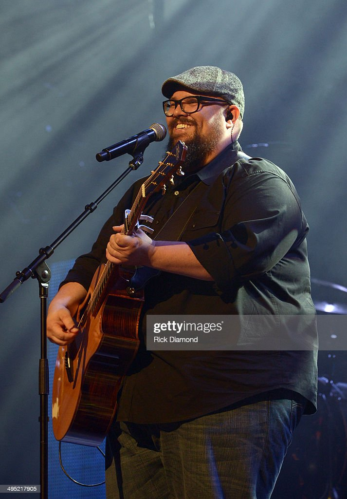 Mike Weaver of Big Daddy Weave performs at the 2nd Annual KLOVE Fan Awards at the Grand Ole Opry House on June 1 2014 in Nashville Tennessee