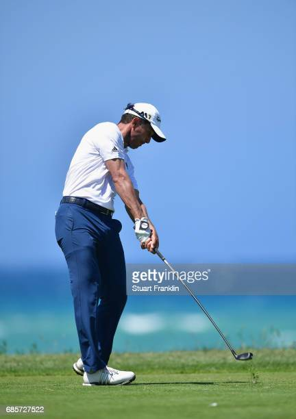 Mike Weir of Canada tees off during day three of The Rocco Forte Open at Verdura Golf and Spa Resort on May 20 2017 in Sciacca Italy