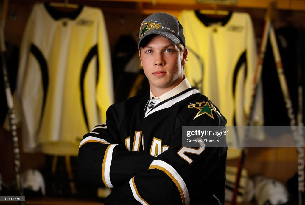 Mike Winther, 54th overall pick by the Dallas Stars, poses for a portrait during the 2012 NHL Entry Draft at Consol Energy Center on June 23, 2012 in Pittsburgh, Pennsylvania.