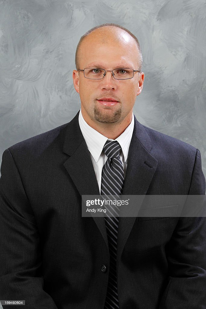 Mike Yeo of the Minnesota Wild poses for a headshot for the at the Xcel Energy Center on September 16, 2011 in Saint Paul, Minnesota.