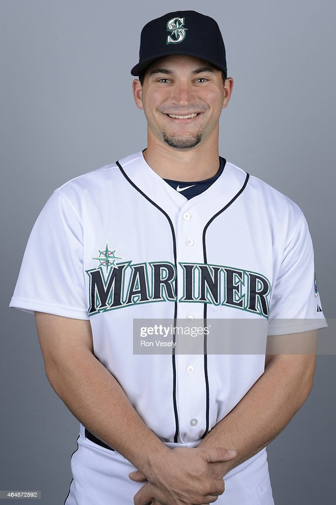 <a gi-track='captionPersonalityLinkClicked' href=/galleries/search?phrase=Mike+Zunino&family=editorial&specificpeople=6803368 ng-click='$event.stopPropagation()'>Mike Zunino</a> #3 of the Seattle Mariners poses during Photo Day on Thursday, February 26, 2015 at the Peoria Sports Complex in Peoria, Arizona.