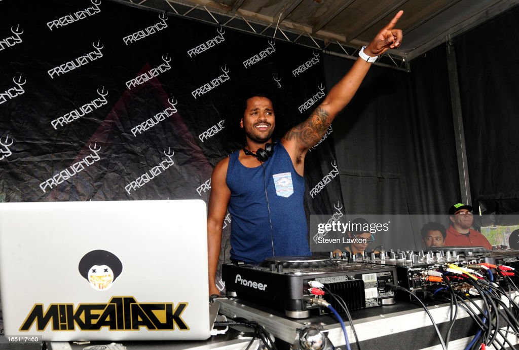 DJ MikeAttack performs during the 18th annual Extreme Thing Sports & Music Festival on March 30, 2013 in Las Vegas, Nevada.