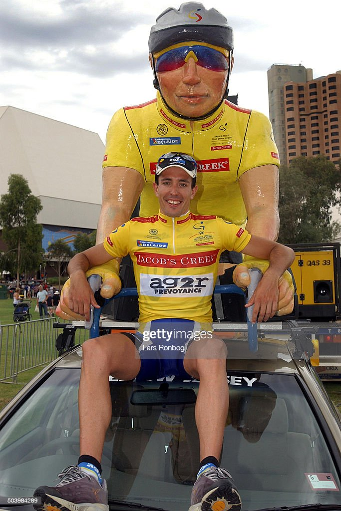 Tour Down Under Australia stage 6 Mikel Astarloza AG2R the winner of Tour Down Under 2003