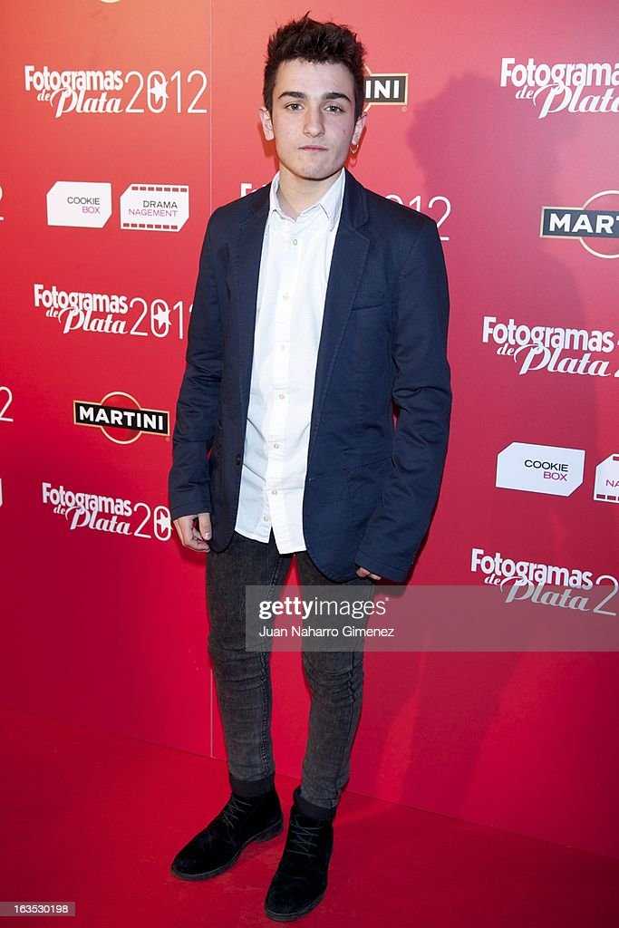 Mikel Iglesias attends Fotogramas awards 2013 at the Joy Eslava Club on March 11, 2013 in Madrid, Spain.