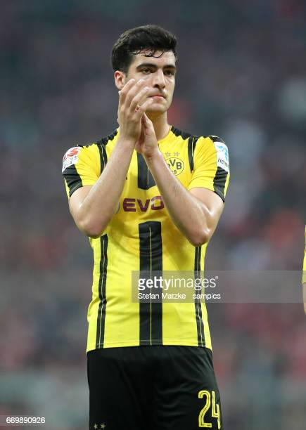Mikel Merino during the Bundesliga match between Bayern Muenchen and Borussia Dortmund at Allianz Arena on April 8 2017 in Munich Germany